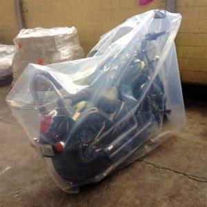 bespoke equipment covering for motorbike