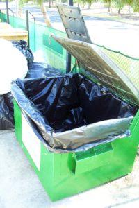 industrial bin liner plastic