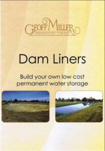 dam liner brochure cover